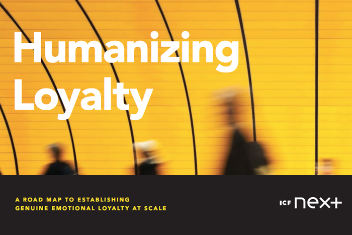 Humanizing Loyalty: A Road Map to Establishing Genuine Emotional Loyalty at Scale