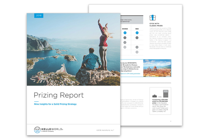 Prizing Report: Nine Insights for a Solid Prizing Strategy