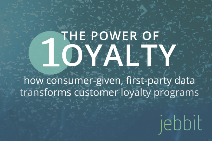 The Power of 1oyalty: How Consumer-Given, First-Party Data Transforms Customer Loyalty Programs