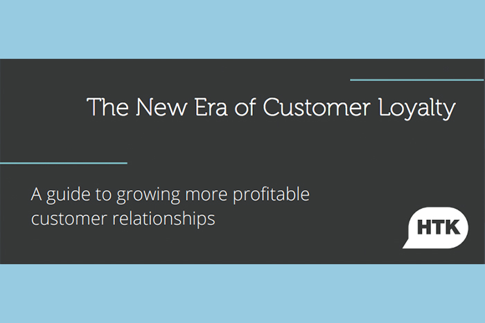 The New Era of Customer Loyalty: A guide to growing more profitable customer relationships