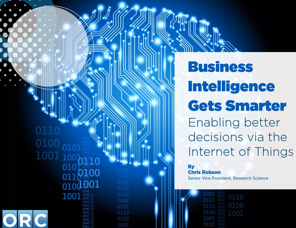 Business Intelligence Gets Smarter Enabling Better Decisions via the Internet of Things