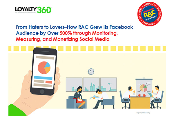 From Haters to Lovers–How RAC Grew Its Facebook Audience by Over 500% through Monitoring, Measuring,