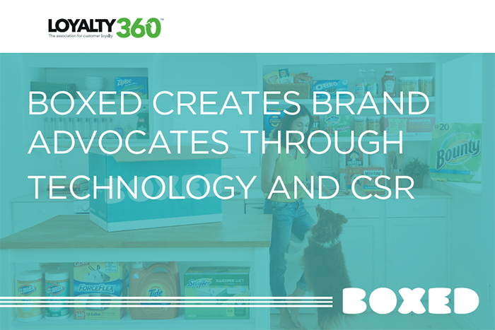 Boxed Creates Brand Advocates Through Technology and CSR