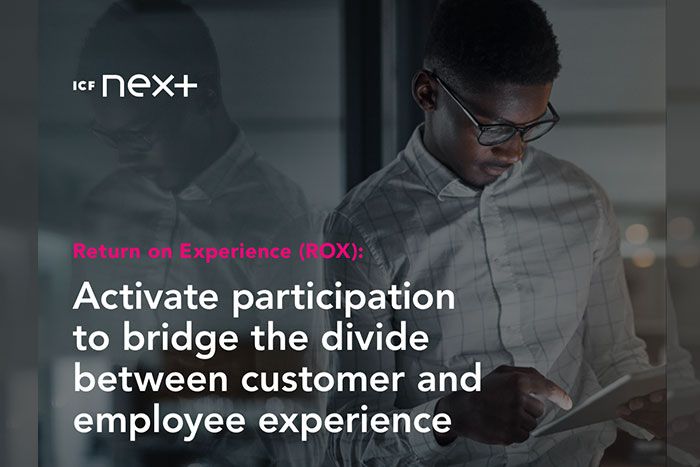 Return on Experience (ROX): Activate Participation to Bridge the Divide Between Customer and Employe