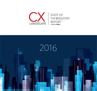 Purchase CX Landscape Report (2016)